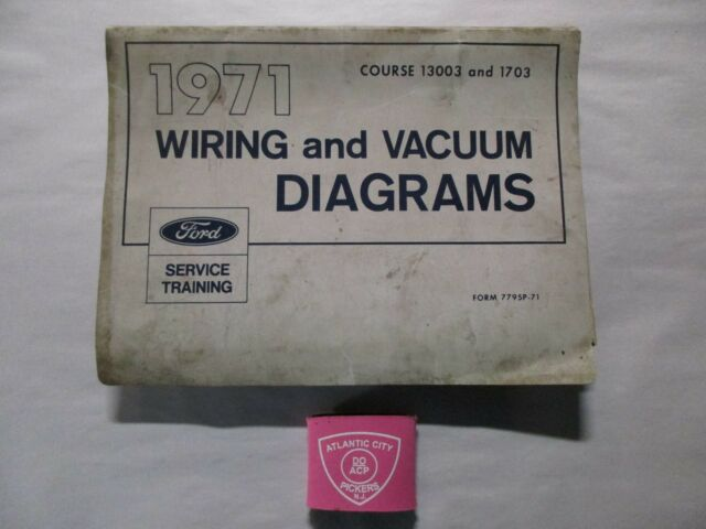 1971 Ford Car  U0026 Truck  Mustang    F  Etc  Vacuum