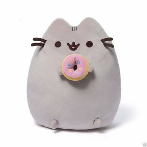 "Pusheen The Cat With Donut 9.5"" Plush Plush"