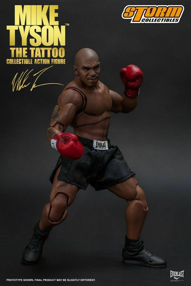 Storm Toys 1 12 MIKE TYSON Tattoo Version Action Figure With three Head Models