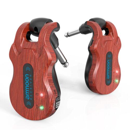 ammoon Gitarren System 5.8G Kabellos Sender /& Empfänger Eingebauter Akku G2R4