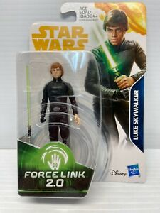 "Star Wars TARGET ROTJ Force Link LOOSE 3.75/"" Figure *LUKE SKYWALKER* Jedi Knight"