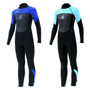 Legacy-5mm-Boys-Girls-Childs-Full-Winter-Wetsuit-Kids-Long-Junior-Wet-Suit-Surf