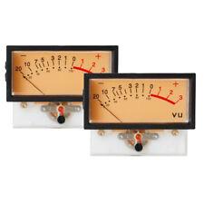 2 Pieces High Precision Vu Meter Header Tn 73 Analog Vu Audio Level Meter
