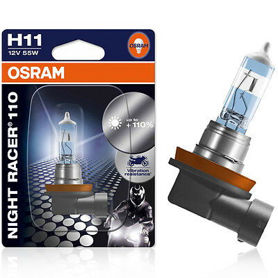 Osram H11 12V 55W PGJ19-2 Night Racer 110 1st. Blister  64211NR1-01B