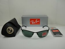 8eaeb45e43f Ray-Ban Top Bar Rb3183 006 71 63mm Black   Green Classic for sale ...