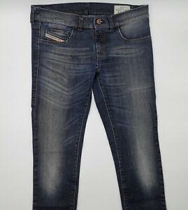 Diesel Livier Wash 0882P_Stretch W29 L32 blau Damen Designer Denim Jeans Hose