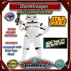 8a84367ef4 Image is loading Deluxe-Stormtrooper-Adult-Star-Wars-Storm-Trooper-Men-
