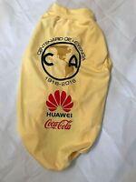 Club America Aguilas Mexican Soccer Team Shirt- For Dog-yellow- Centenario
