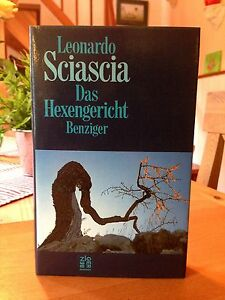 Leonardo-Sciascia-034-Das-Hexengericht-034-1-Auflage-1986-gebunden-neuwertig