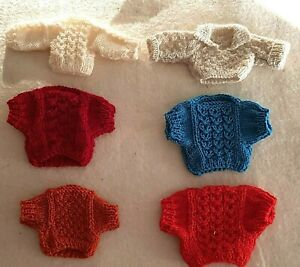 Convolute-Knitted-Sweater-For-Approx-5-1-2-6-5-16in-Bears-Great-Price-16