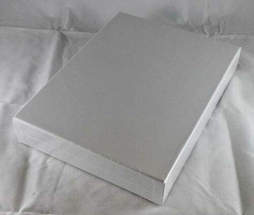 """GMT Boardgame Acc Empty Wargame Box 2/"""", White, Double Thick 1 SW"""