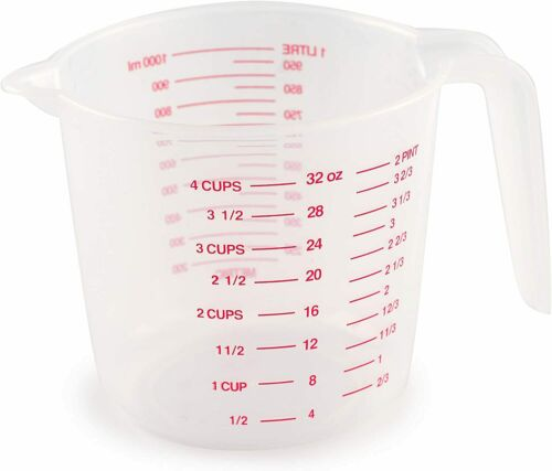 Norpro 4-Cup Capacity Plastic Measuring Cup