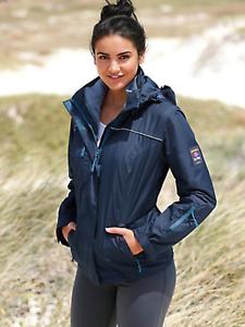 Inner Fleece Bonprix 18 Jacket £75 Size Outdoor Multipurpose Navy Warm Coat 008rq76