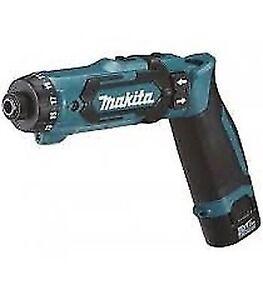 Screwdriver steering knuckle Makita 7 2V 1/4 female DF012DSJ