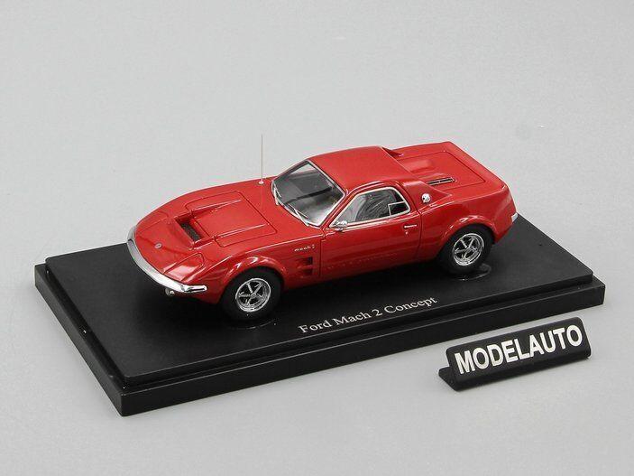 Autocult 1 43 ford mach 2 konzept, rot, usa 1967 l.e. 333.