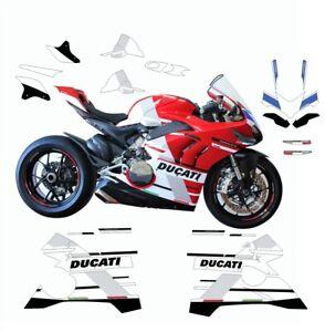 Stickers Kit Replica S Racing Ducati Panigale V4 899 1199 959 1299 Ebay