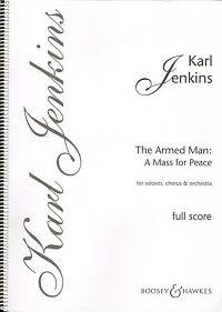 JENKINS ARMED MAN 10th Anniversary Full Score