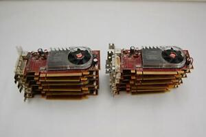 *Lot of 4* AMD Radeon 109-B27631-00 256MB DDR2 B276 PCI-E Graphics Card