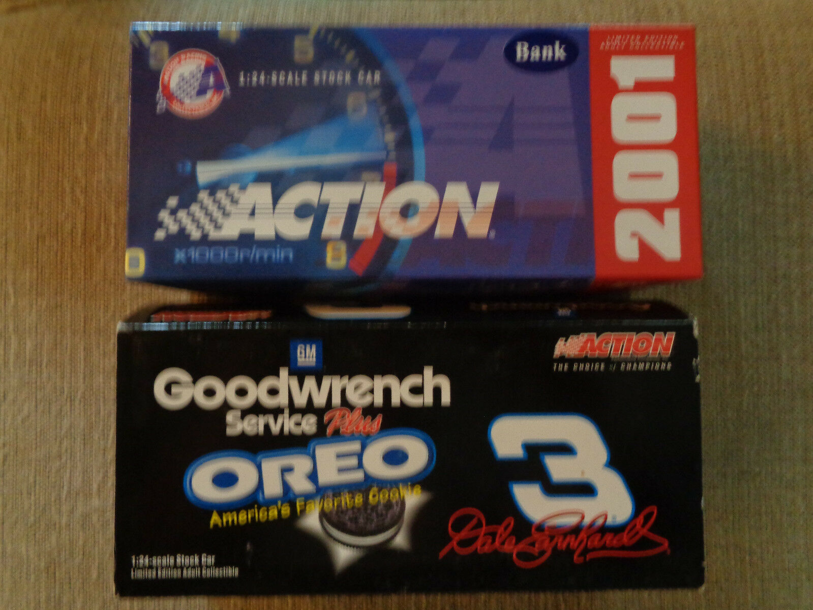 ACTION Dale Earnhardt Oreo BANK 1 24 1  3,000