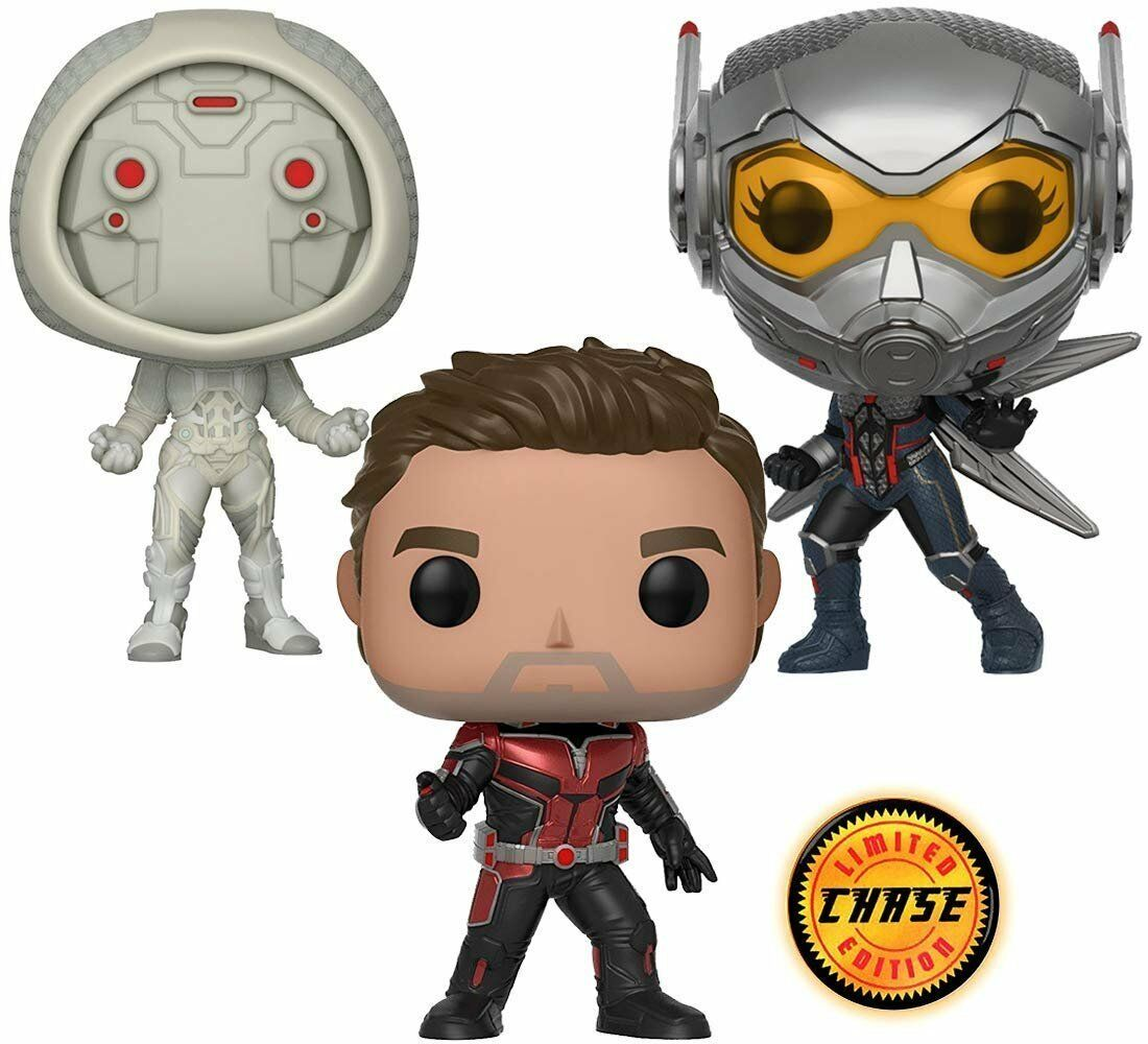 Ant-man CHASE Funko Pop Vinyl Unmasked Marvel Rare Limited Edition Edition Edition With Box 8246d7