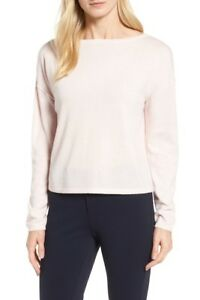 c166e0f18 Image is loading NEW-Nordstrom-Signature-Bateau-Neck-Cashmere-Sweater-in-