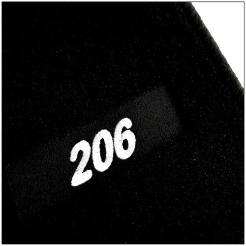 Alfombrillas  a medida Tapis de sol PEUGEOT 206 desde 1998-2009 EDITION-Velour