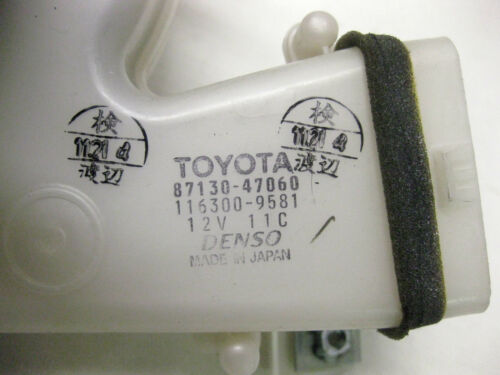 2002 TOYOTA PRIUS HYBRID BATTERY COOLING FAN BLOWER 87130-47060 OEM 01 02 03