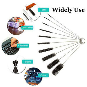 10-Nylon-Stainless-Steel-Cleaners-Cleaning-Brushes-for-Tobacco-Pipe-Airbrush