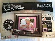 FrameWizard 8-Inch Digital Picture Frame NEW Father's Day