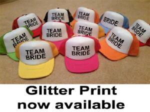 5f2fd99d86f BRIDE   TEAM BRIDE - HEN STAG PARTY Half Mesh Baseball Trucker ...