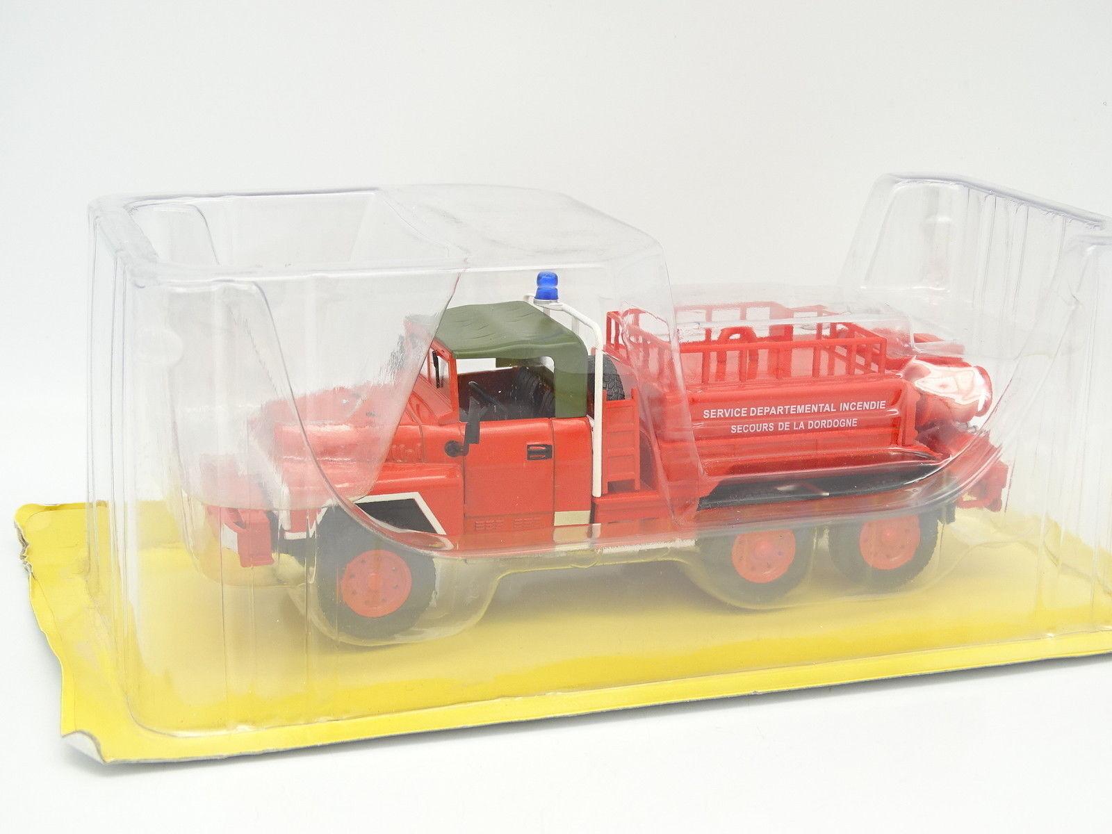 Ixo Presse Camion Pompiers 1 43 - ACMAT VLRA TPK 6x6 FFL