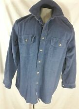 Mens Field and Stream Original Outfitter long sleeve button up Large L, HEAVY