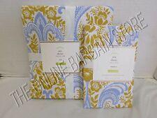 Pottery Barn Ava Fleur De Lis Floral flower Bed Duvet Cover Twin Standard Sham