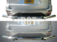 BGT 2009-2013 SUBARU FORESTER REAR SINGLE TUBE PINTLE BUMPER GUARD S/S