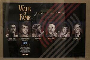 Portland Trail Blazers Walk of Fame Walton Lucas Petrie Ramsay Glickman Poster