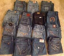 Women's WHOLESALE RESALE LOT 15 Pairs Designer and High Quality Brand Name Jeans