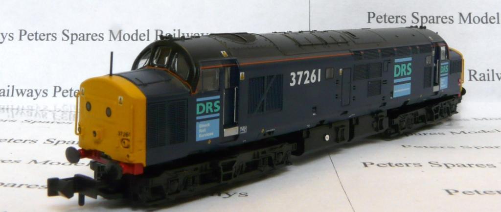 Graham Farish 371471 classe 370 No  37261 DRS N Gauge