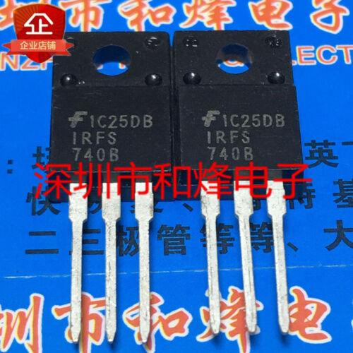 10PCS IRFS740B TO-220F