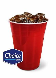 Rojo-Americano-Vasos-De-Fiesta-De-Plastico-solo-Beer-Pong-16-OZ-approx-453-58-g-50-100-piezas