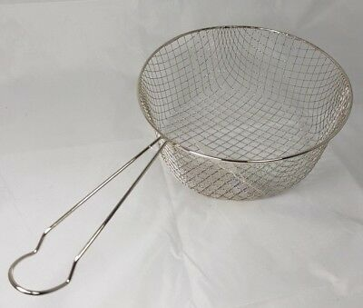 Replacement Wire Chip Pan Frying Basket To Fit 22cm Chip Pan