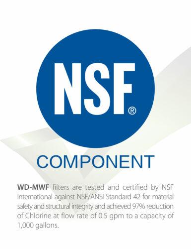 4 Compatible Filtre À Eau Pour Smartwater MWF MWFP GWF GWFA HOTPOINT HWF HWFA