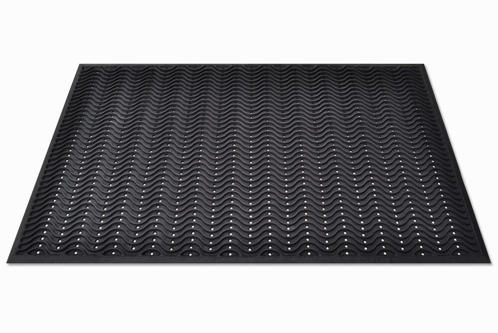Big Heavy Duty Industrial Work Rubber Bar Safety Floor Wave Mat Anti Fatigue 5077074865304 Ebay