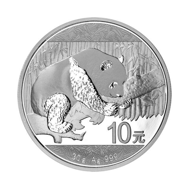 Silbermünze China Panda 30 g Silber 2016 - 999er Silber