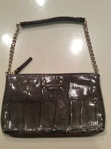 Image Is Loading Auth Kate Spade Byrd Knightbridge Croc Embossed Patent