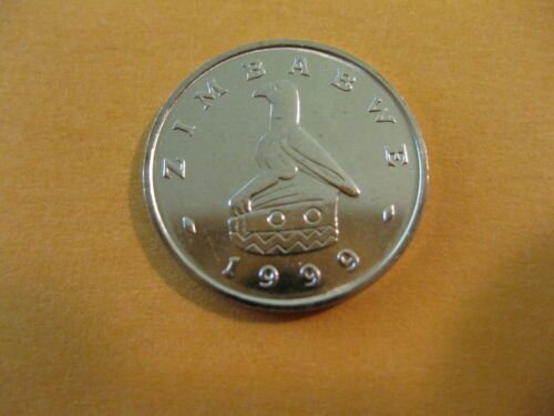 """super nice coin 10 cents 1999 Zimbabwe Coin  /""""AFRICA BAOBAB TREE/"""""""
