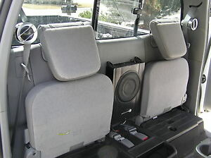 Toyota Extended Access Cab Powered Subwoofer Amp Tweeters