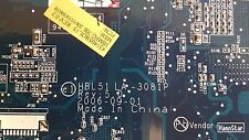 MB.AFL02.001 Acer Aspire 5630 5650 5680 Motherboard HBL51 LA-3081P BL50