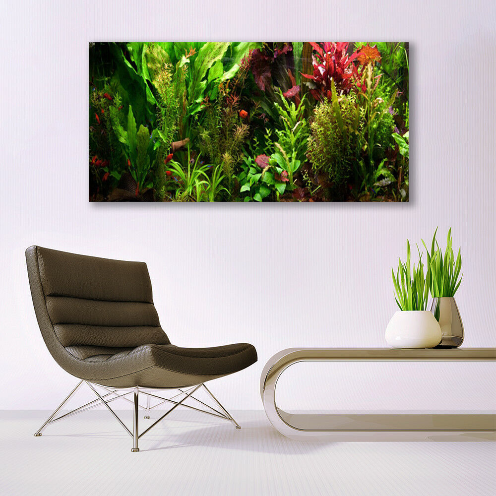 Print on Glass Wall art 140x70 Picture Image Plants Nature Nature Nature acad89