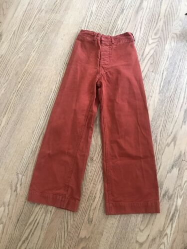 jesse kamm sailor pants Iron Oxide Red Size 0