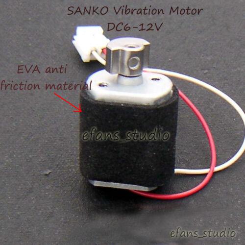 DC 6V-12V Sanko Micro Mini Vibrateur Vibration Moteur DC À faire soi-même Jouet Masseur Game Pad